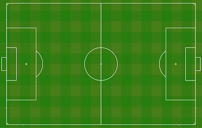 Hur stor är en fotbollsplan?