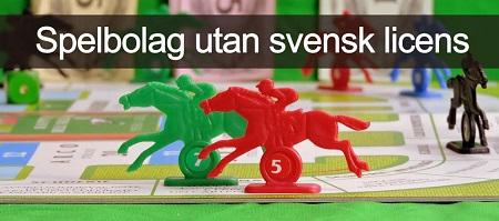 Betting och spelbolag utan svensk licens